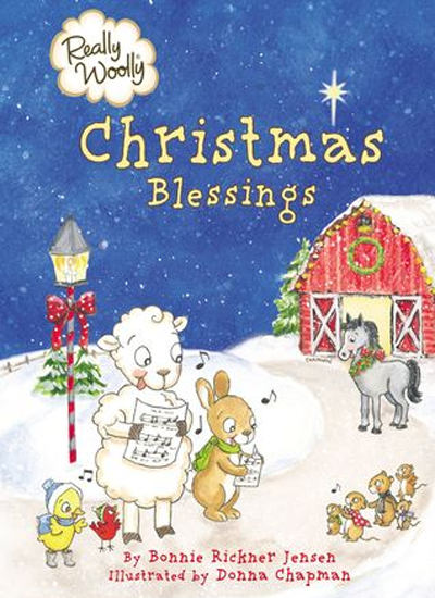 Really Woolly Christmas Blessings by Bonnie Rickner Jensen