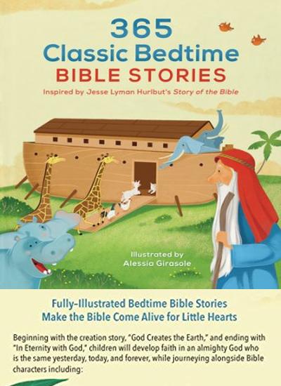 365 Classic Bedtime Bible Stories by Jesse Lyman Hurlbut